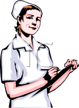 Clipart Image Nurse Holding A Clipboard -Clipart Image Nurse Holding A Clipboard With A Patient Chart On It-2