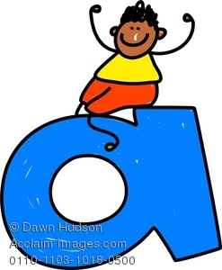 Clipart Image of A Happy .-Clipart Image of A Happy .-7