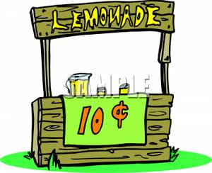 Clipart Image Of A Lemonade Stand-Clipart Image Of A Lemonade Stand-4