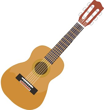 Clipart Images Of Guitar