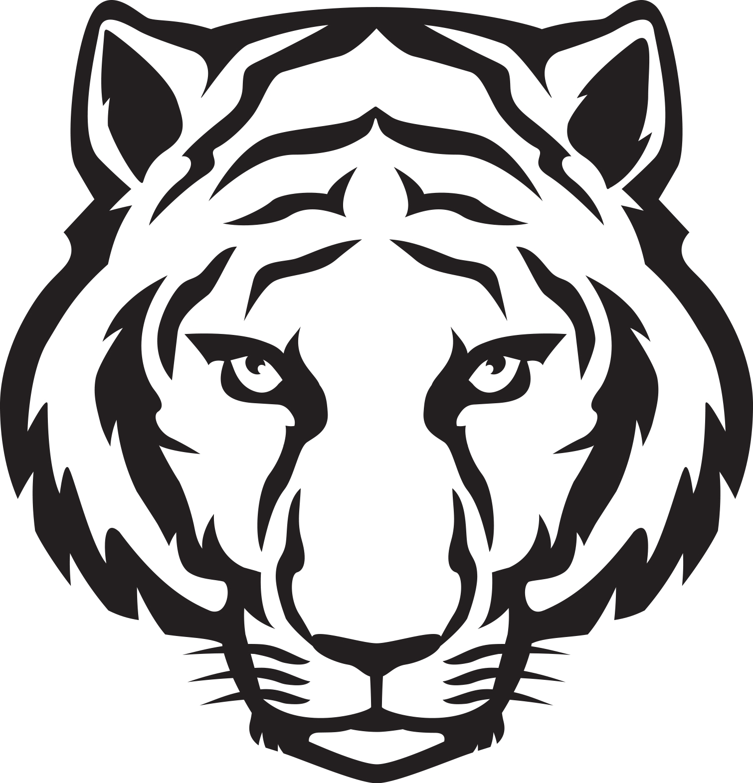 Clipart Images Of Tiger