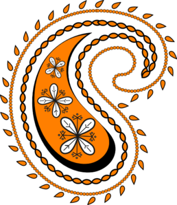Clipart Images; Paisley .