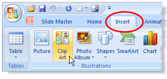 clipart in powerpoint