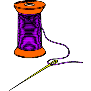 Clipart Info. Needle u0026amp; Thread