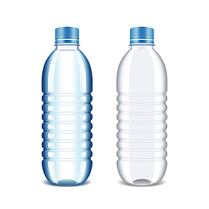 Clipart Info . Plastic bottle for water .