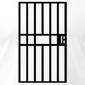 clipart jail cell