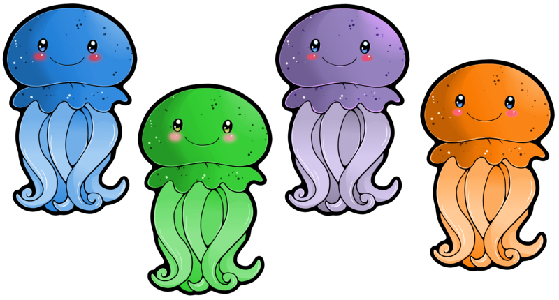 clipart jellyfish | Clipart .
