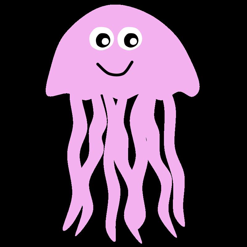 Clipart - Jellyfish