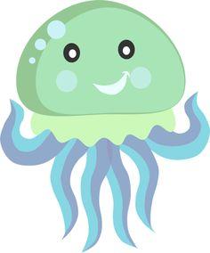 Clipart Jellyfish. Mar