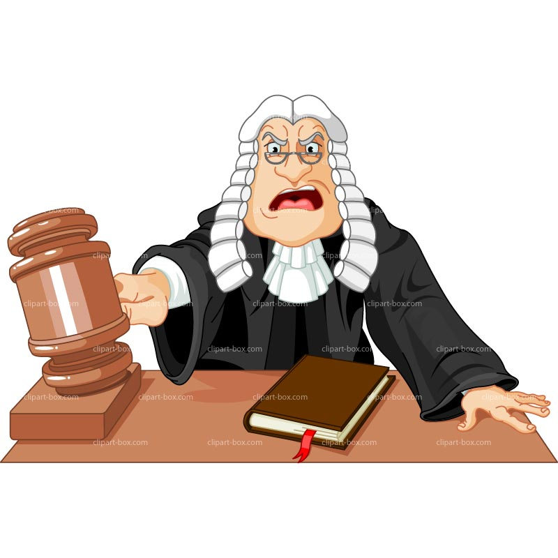 Clipart Judge Royalty Free Vector Design