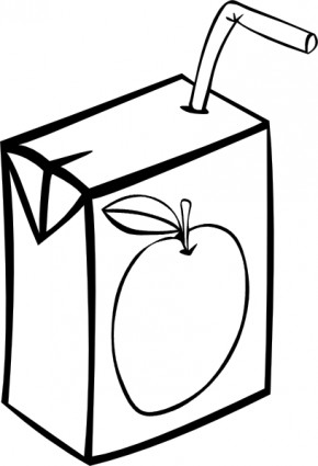Clipart juice box - .