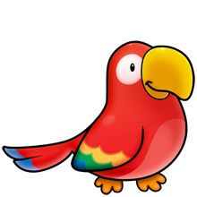 Clipart JunglePirate ClipartPirate TheamsParrot .
