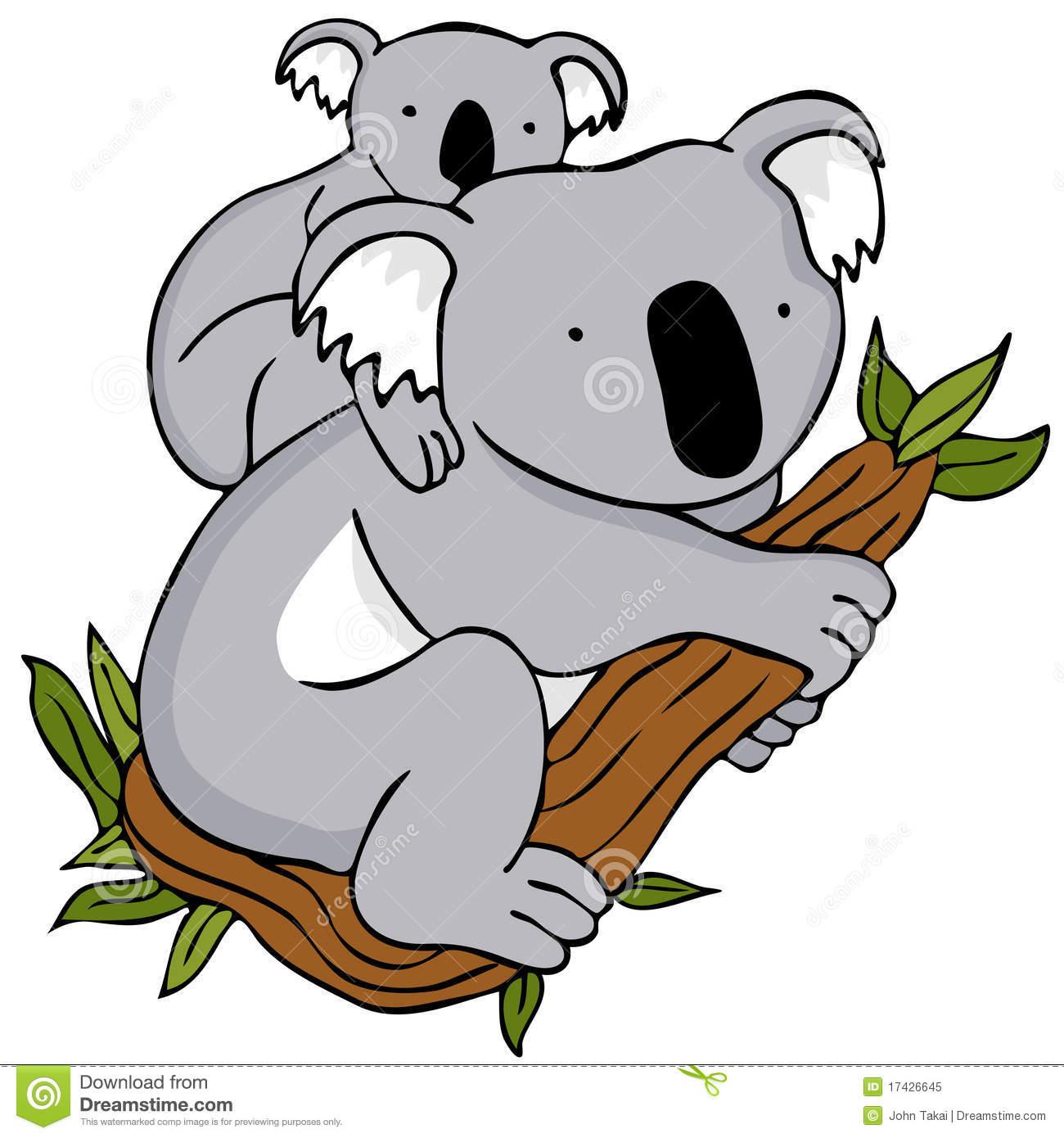 Clipart koala bear - ClipartFest