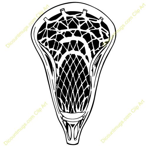 Clipart lacrosse stick - .