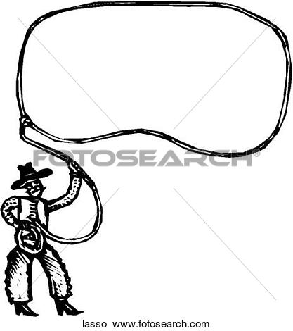 Clipart - Lasso. Fotosearch - Search Clip Art, Illustration Murals, Drawings and Vector