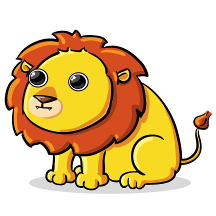 clipart lion - Lion Clipart Free