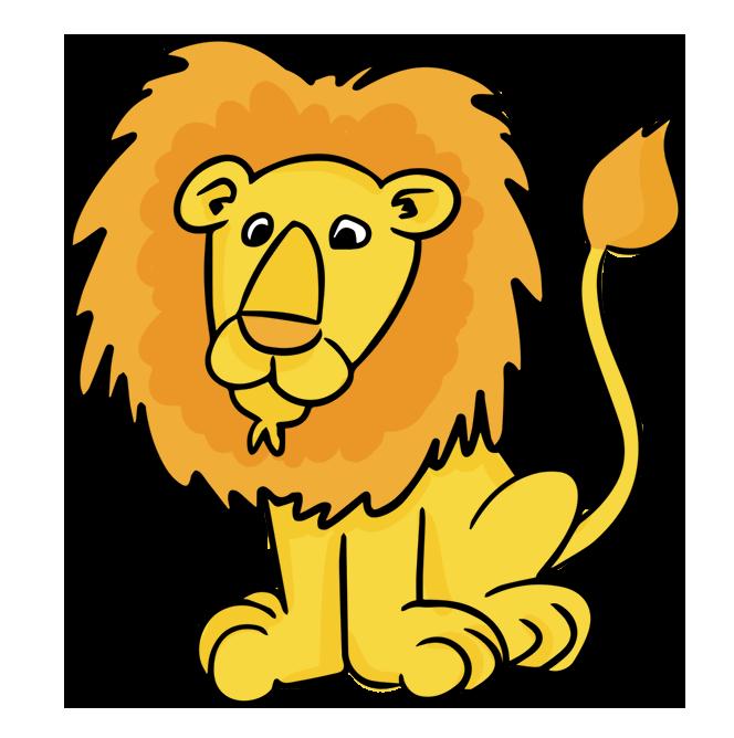 clipart lion