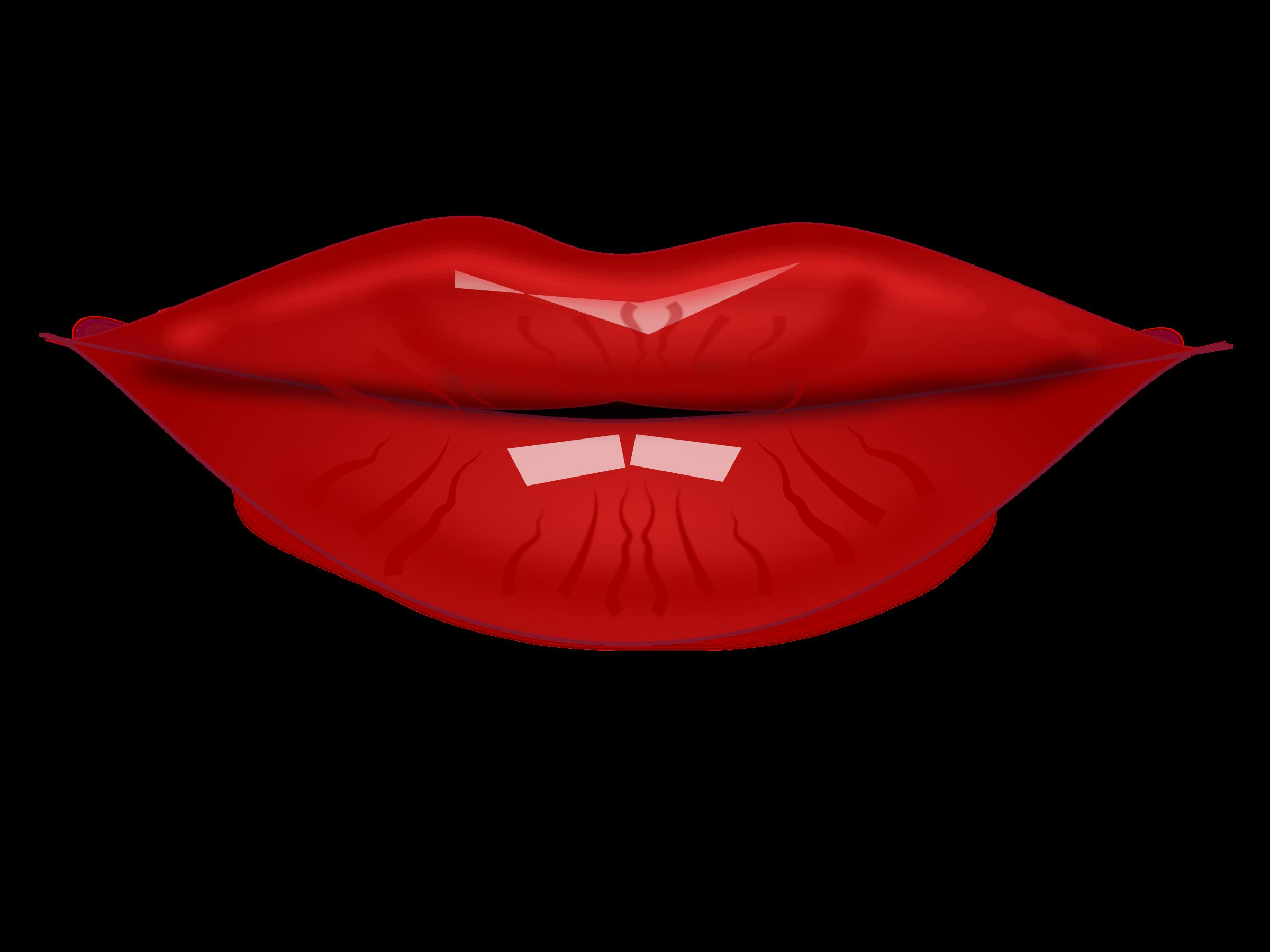 Clipart lips by netalloy