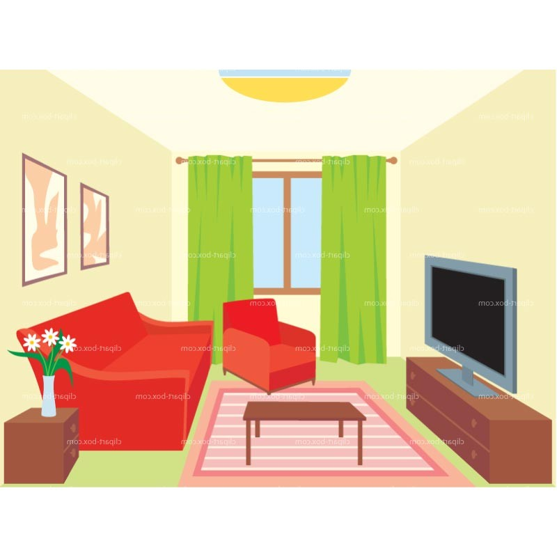 Clipart Living Room Royalty .-Clipart Living Room Royalty .-1