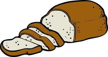 Clipart loaf of bread - .