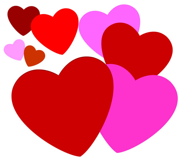 Clip Art Red Heart Clipart Pa
