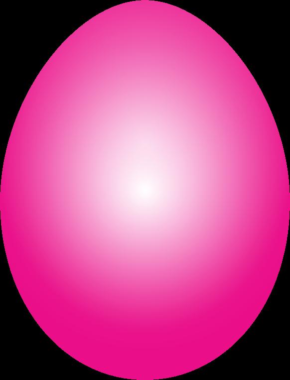 Clipart Magenta Easter Egg-Clipart Magenta Easter Egg-1