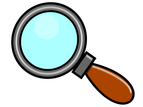 Clip Art Magnifying Glass & Look At Clip Art Images