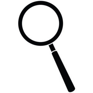 Clipart magnifying glass .