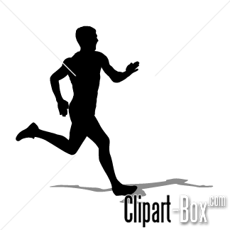 CLIPART MAN RUNNING