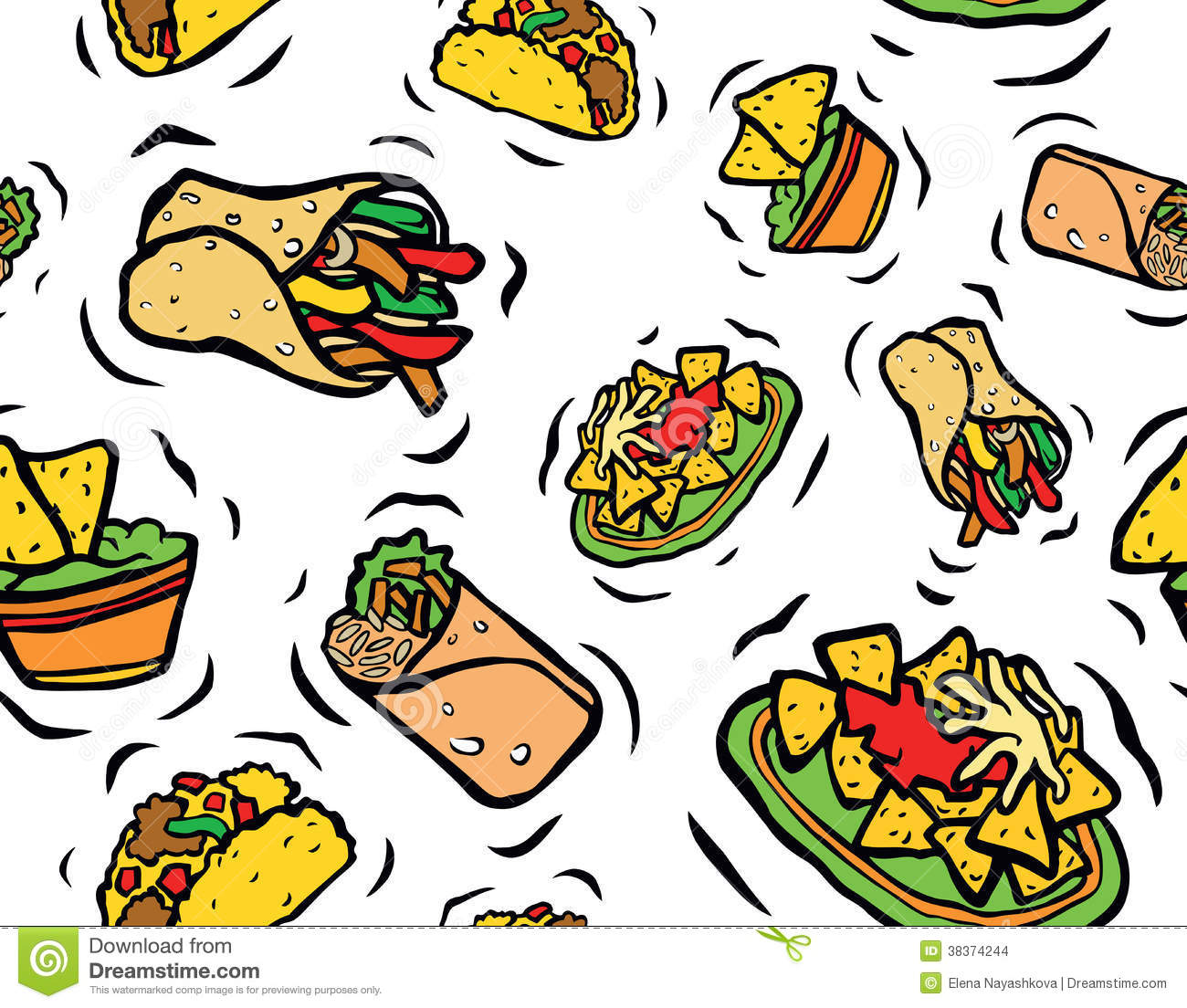 Food mexican. Clipart clipartlook