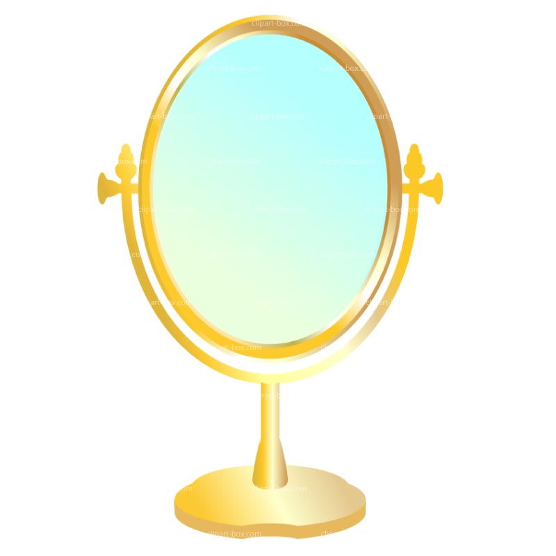 Clipart Mirror Royalty Free Vector Design