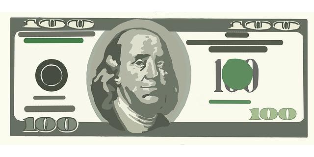 Clip Art Dollar Bill