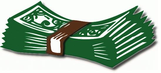 Clipart Money Bills-Clipart Money Bills-1