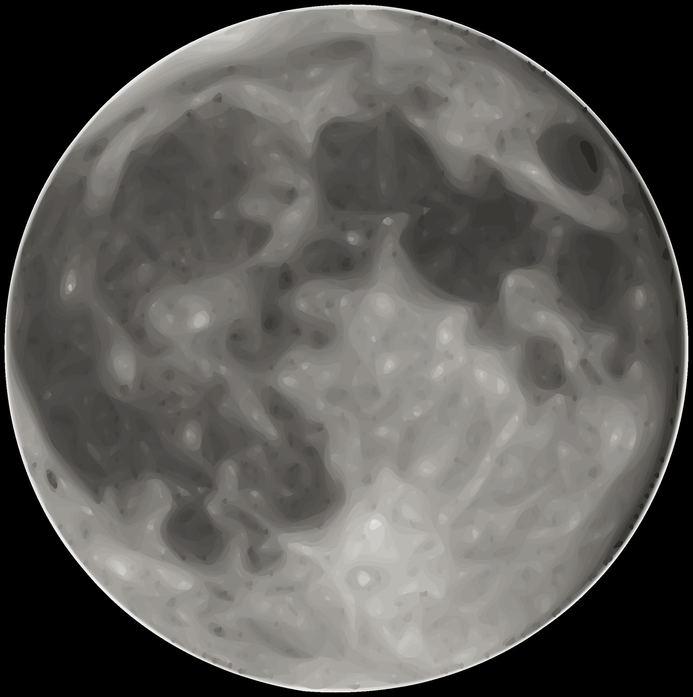 Clipart moon clipart
