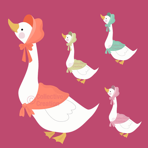 ... Clipart mother goose ...
