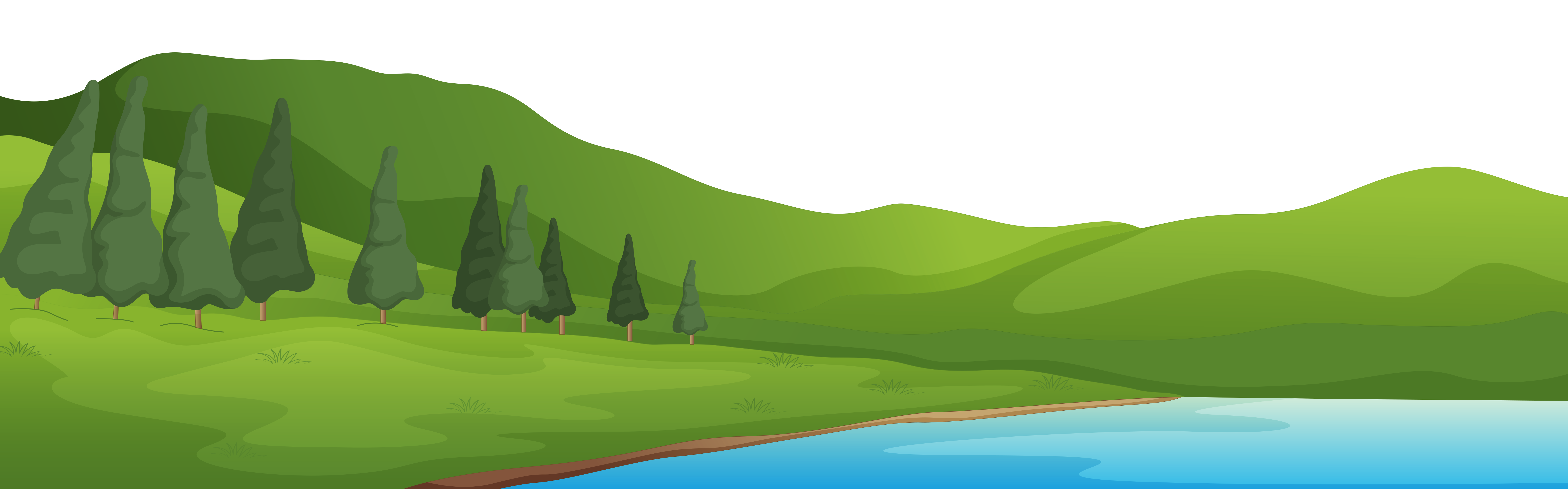 clipart mountains