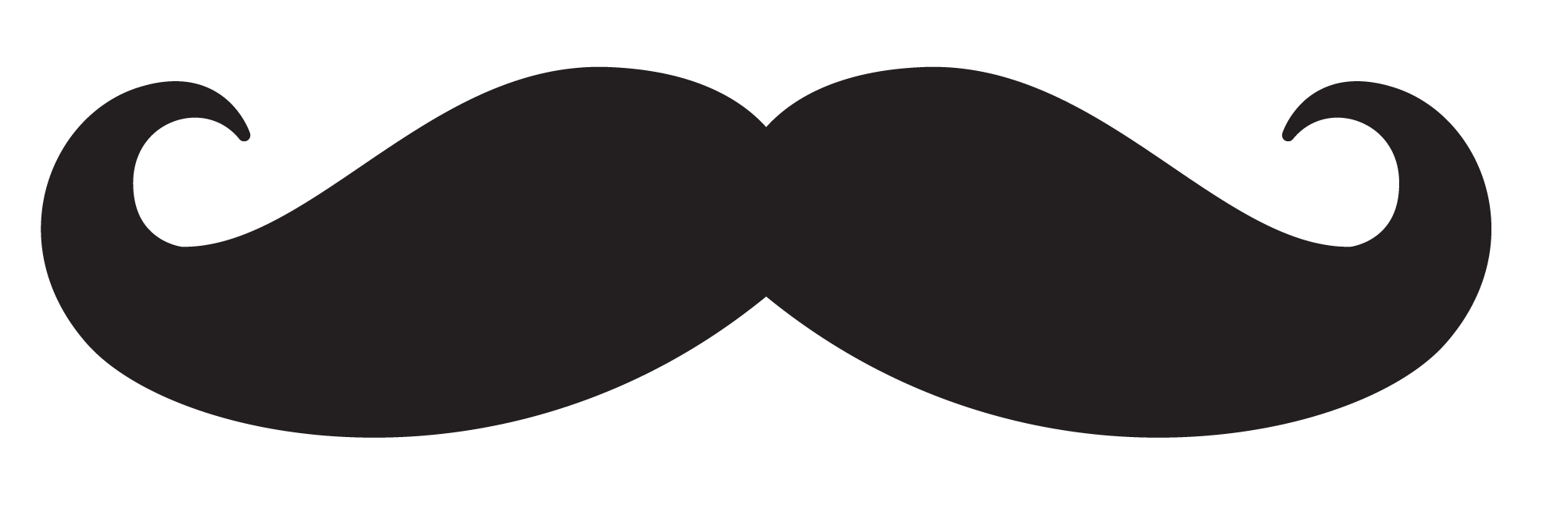 Clipart mustache clipart