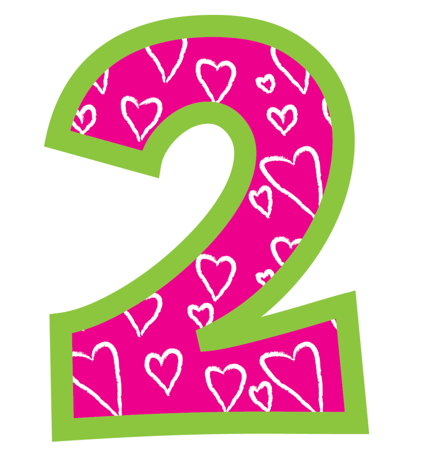 Clipart Number 2 u0026middot; Shea\u0026#39;s Birthdayt Amp Card Ideas On Pinterest Number 2