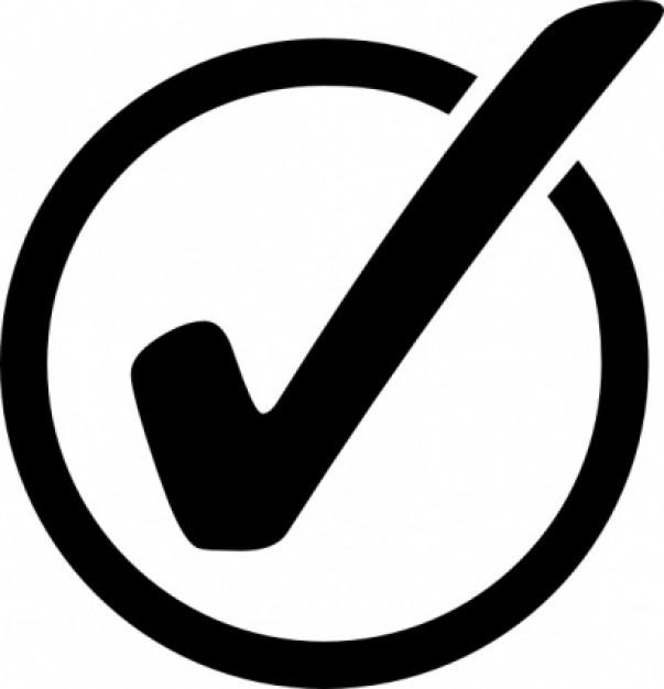 Clipart Of A Check Mark .-Clipart of a check mark .-13