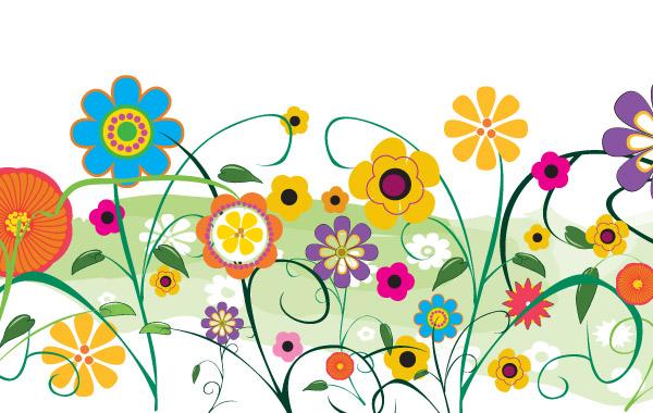 Clipart of a garden clipart image