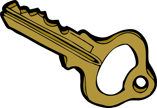Clipart Of A Key-Clipart Of A Key-1