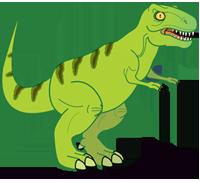Clipart Of A T Rex Dinosaur-Clipart Of A T Rex Dinosaur-2