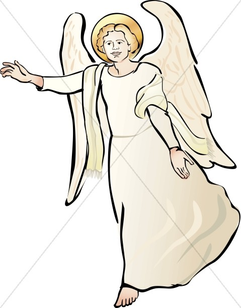 Clipart of Angel-Clipart of Angel-17