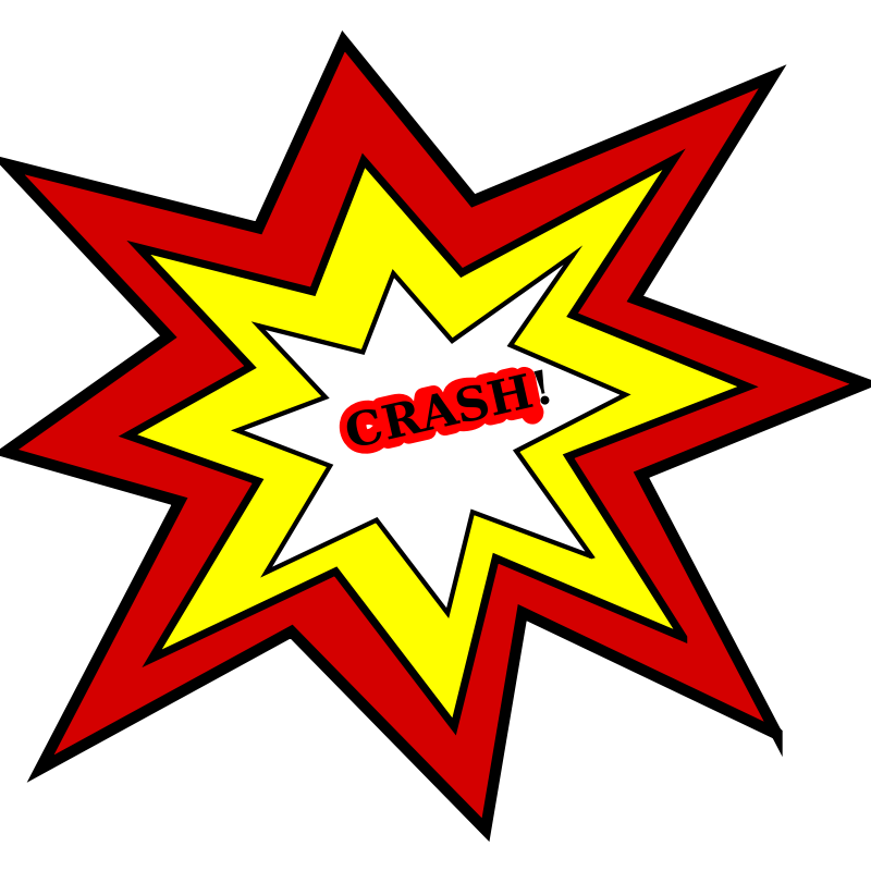 Clipart Of Car Crash Car .