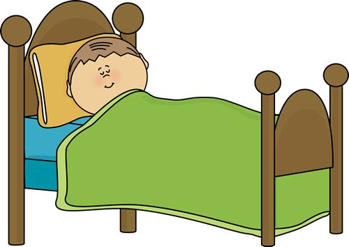 Clipart Of Childu0026#39;s Bed | Child S-clipart of childu0026#39;s bed | Child Sleeping Clip Art Image - child sleeping in a bed-10