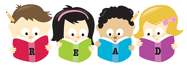 Clipart Of Children With Books-Clipart of children with books-14
