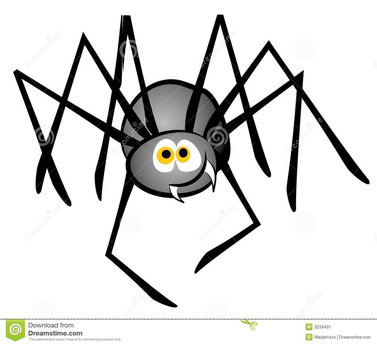 Clipart Spiders