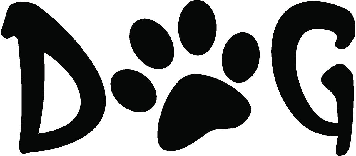Clipart Of Dog Paws