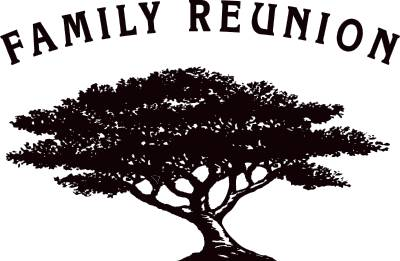 Clipart of family reunion - .