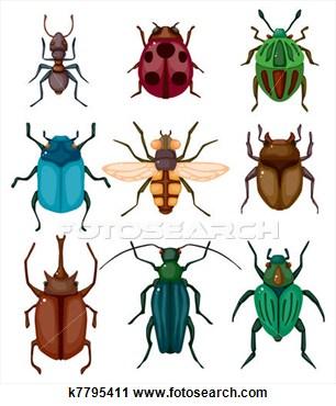Clipart of insects - ClipartF - Insects Clipart